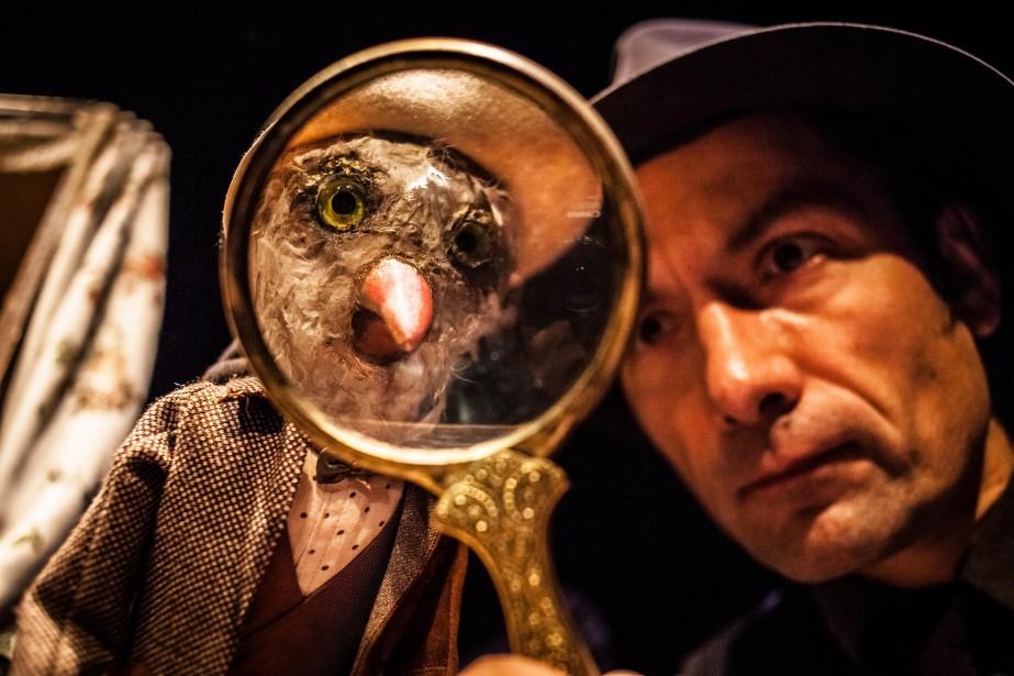 Oh L'Oie, l'Oie du Teatr Animacji... (Photo Beznazwy, fournie par le festival de Casteliers)