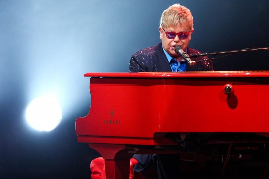 Elton John a affirmé récemment dans une entrevue... (Archives AP, Rich Fury)