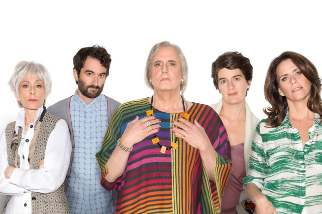 La famille Pfefferman au coeur de la série <em>Transparent</em> sur ICI ARTV. (Crédit photo: Amazon Studios)