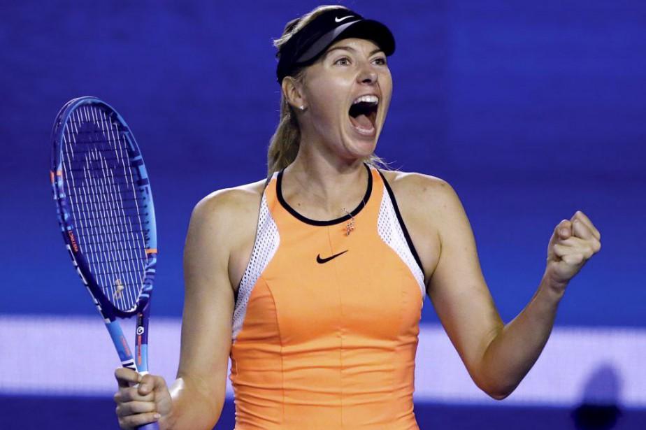Maria Sharapova... (Photo Aaron Favila, AP)