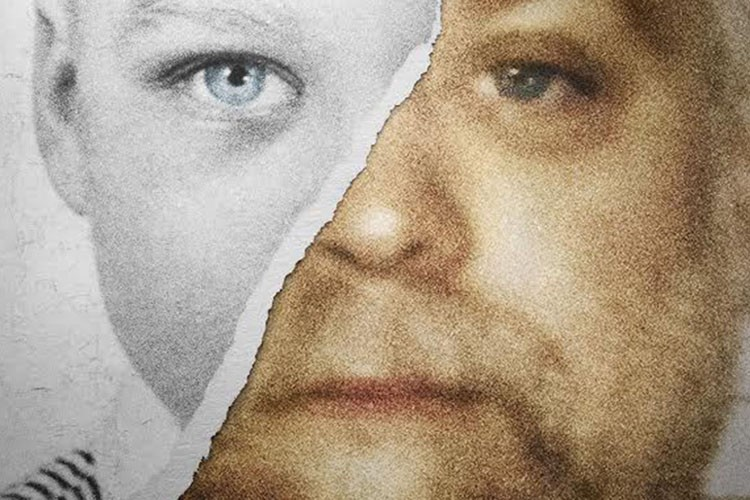 Détail de l'affiche de Making a Murderer.... (PHOTO AP)