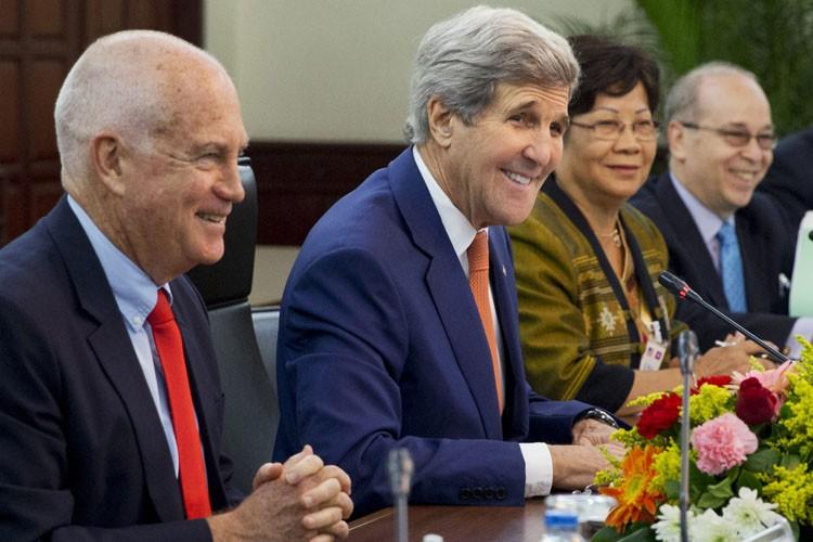 Pour John Kerry, il s'agit seulement de la... (PHOTO REUTERS)