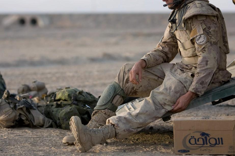 En tout, 158 militaires canadiens ont perdu la... (PHOTO MARTIN TREMBLAY, ARCHIVES LA PRESSE)