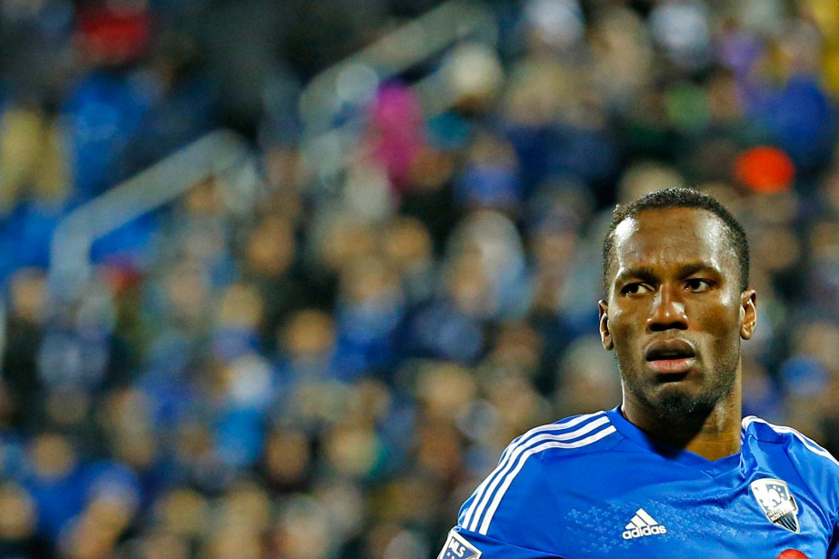 Si Didier Drogba affiche la même attitude à... (PHOTO OLIVIER JEAN, ARCHIVES LA PRESSE)