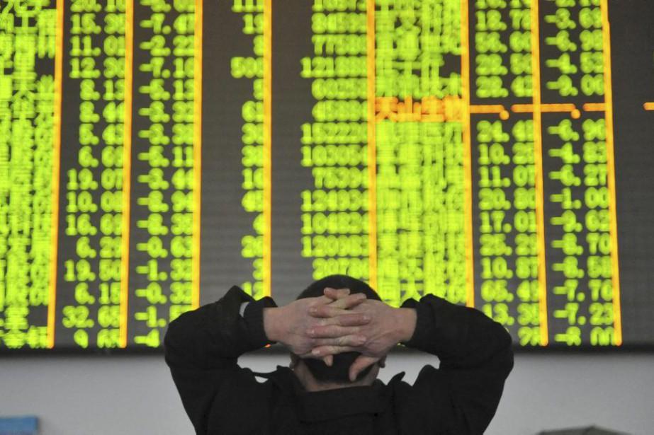 Après deux séances de rebond, les Bourses chinoises... (PHOTO REUTERS)