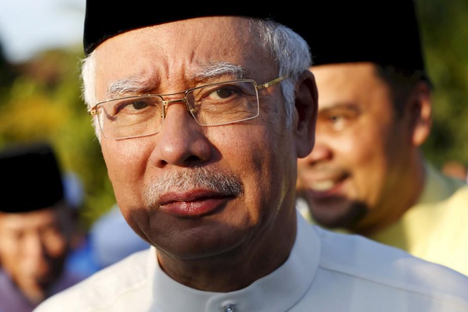 Le premier ministre malaisien Najib Razak à Kuala... (PHOTO OLIVIA HARRIS, ARCHIVES REUTERS)