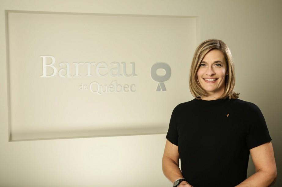 Claudia P. Prémont, bâtonnière du Québec... (Photo fournie par le Barreau du Qubec)