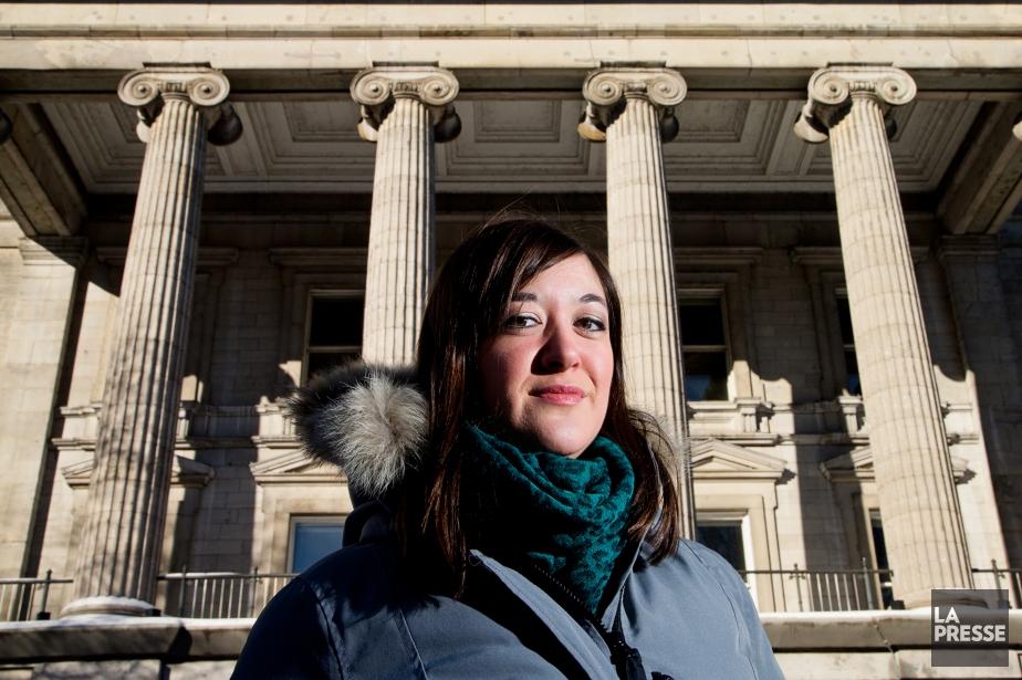 Jennifer Fafard-Marconi est avocate au Centre de justice... (Photo Alain Roberge, La Presse)