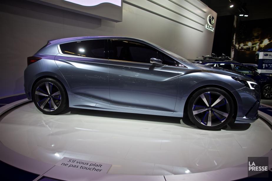 Subaru a donné un avant-goût de sa prochaine... (PHOTO ANDRÉ PICHETTE, LA PRESSE)