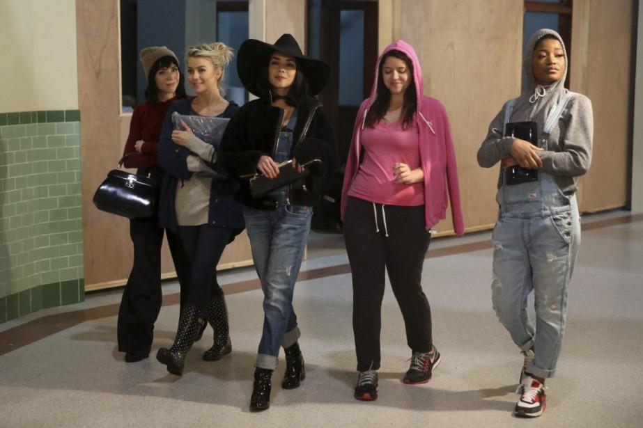 Carly Rae Jepsen, Julianne Hough, Vanessa Hudgens, Kether... (PHOTO AP)