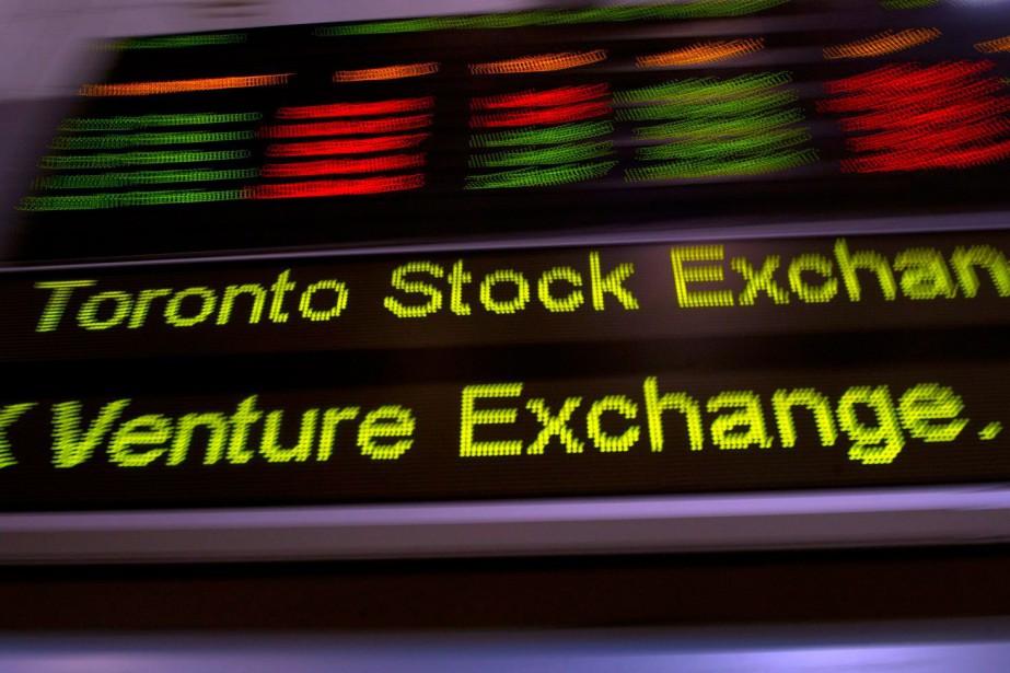 L'indice S&P/TSX a cédé plus de 11 %... (PHOTO FRANK GUNN, ARCHIVES LA PRESSE CANADIENNE)