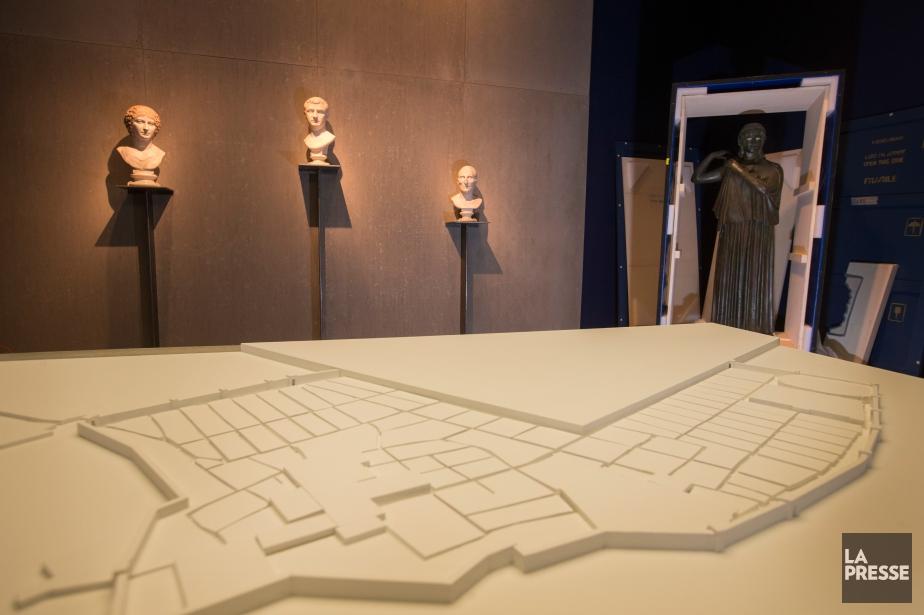 L'exposition Pompeii s'ouvrira le 6 février auMusée des... (PHOTO IVANOH DEMERS, LA PRESSE)