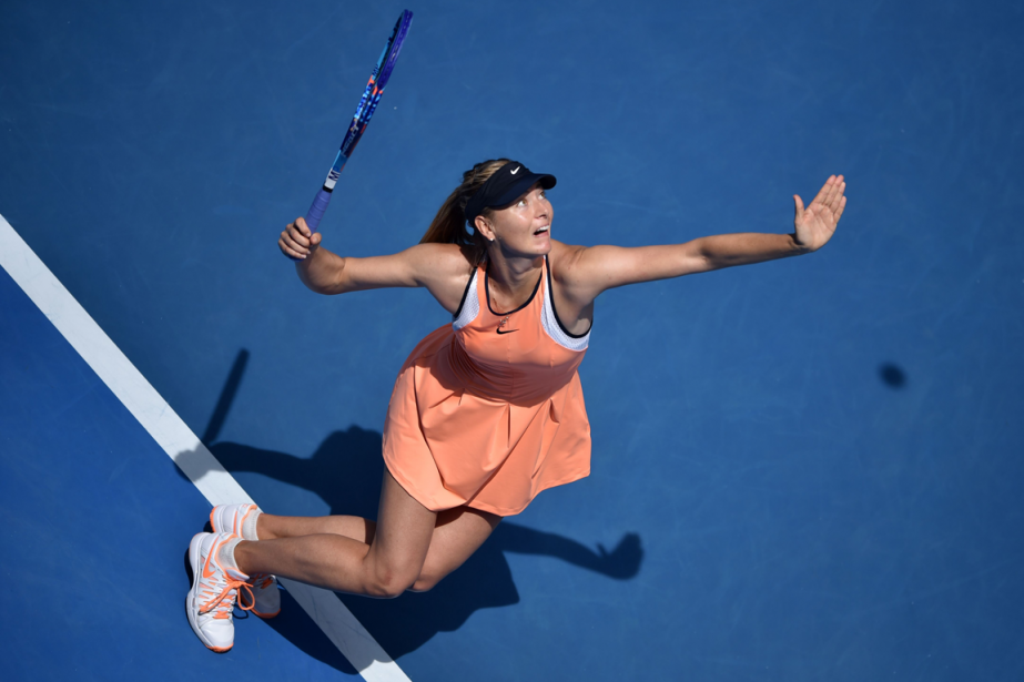 Maria Sharapova... (Photo Peter Parks, AFP)
