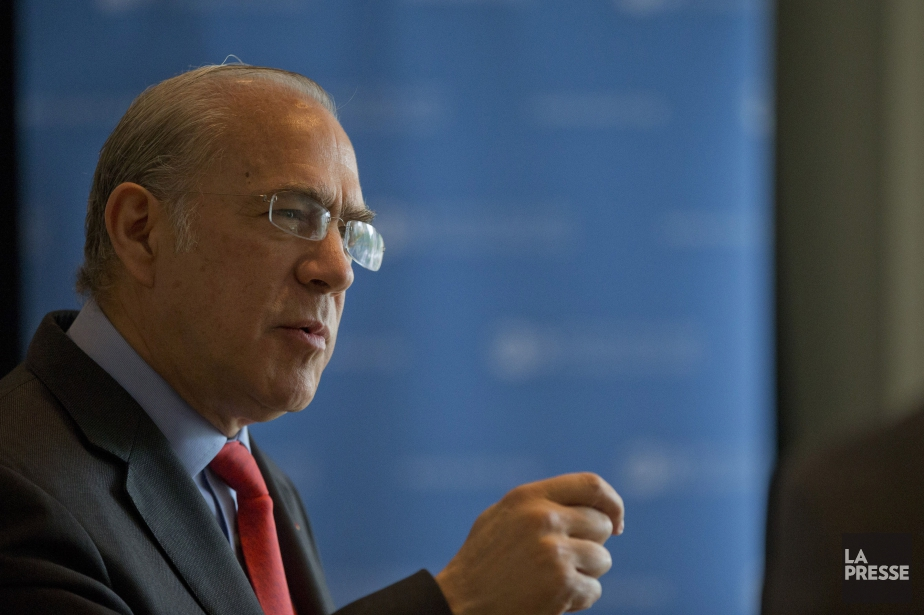 Le PDG de l'OCDE Angel Gurria... (Photo Ivanoh Demers, archives La Presse)