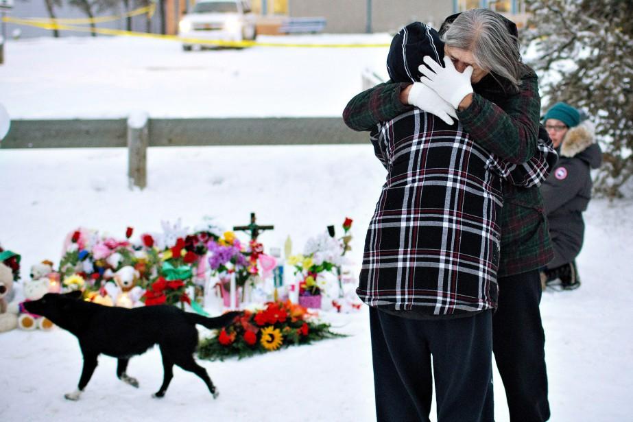 L'une des tueries les plus meurtrières en milieu... (PhotoJason Franson, La Presse Canadienne)