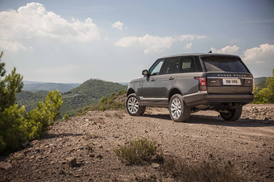 Range Rover Td6 (PHOTO FOURNIE PAR LAND ROVER)