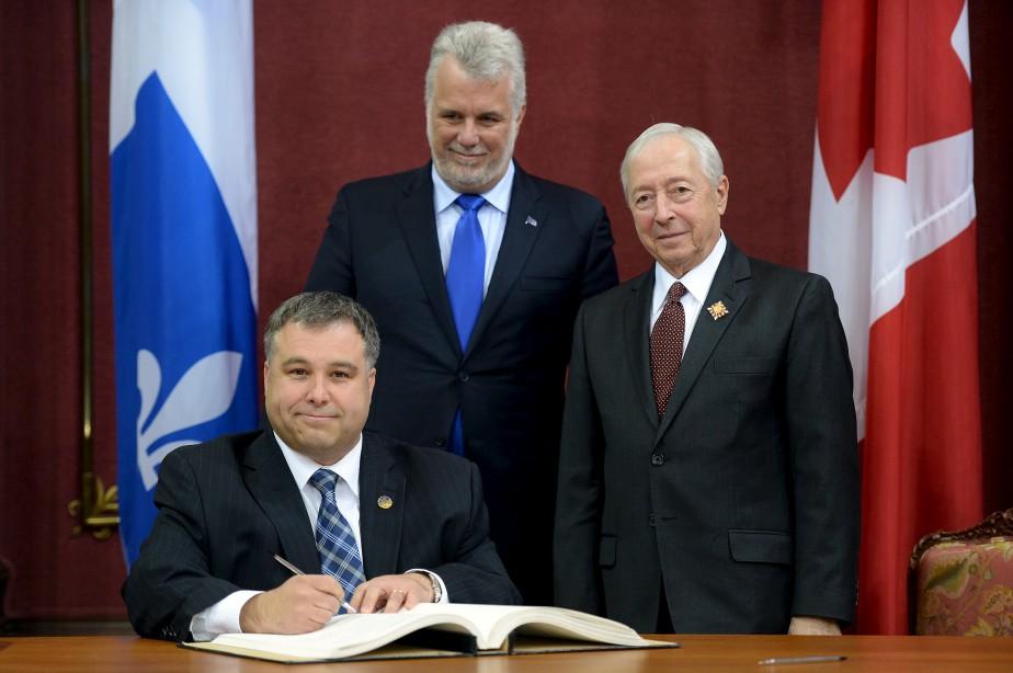 Sébastien Proulx, au ministère de la Famille. Il hérite de la responsabilité de la Gaspésie et des Îles-de-la-Madeleine. (Le Soleil, Érick Labbé)