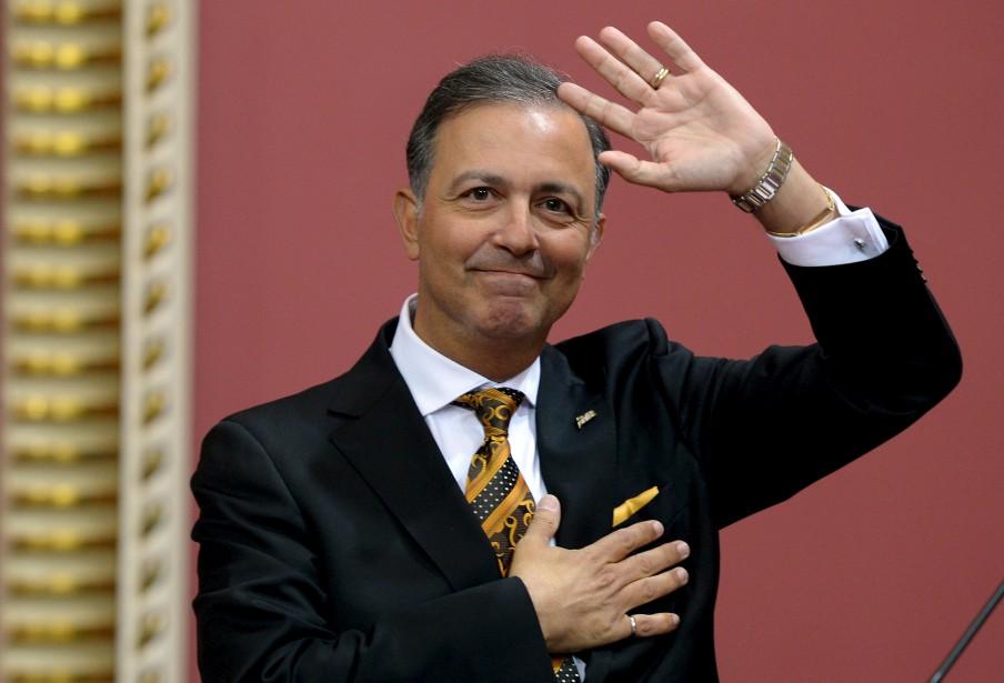 Sam Hamad prend les rênes du Conseil du trésor. Il conserve le titre de responsable de la Capitale nationale. (Le Soleil, Érick Labbé)