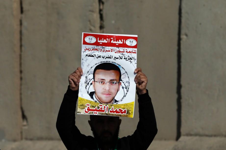Mohammed al-Qiqa été placé mi-décembre en détention administrative,... (PHOTO ABBAS MOMANI, AFP)