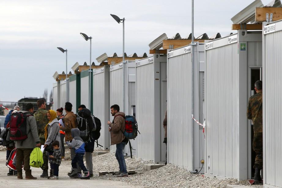 L'idée, qui vise à rendre les conditions d'asile... (Photo Michaela Rehle, AFP)