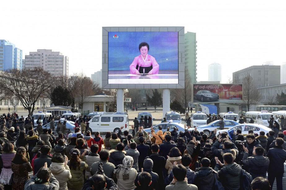 Sur cette photo, publiée par le Centre de... (Distribuée par AFP)