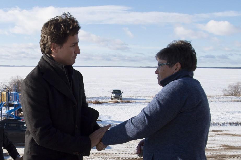 Le premier ministre Justin Trudeau a rencontré la... (La Presse Canadienne, Jonathan Hayward)