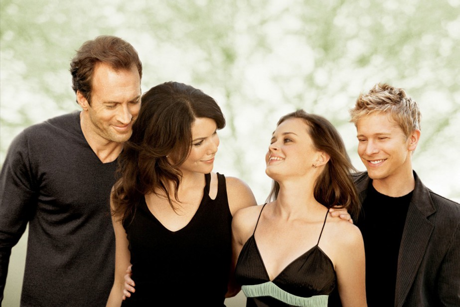 La série Gilmore Girls, l'un des grands succès... (Photo d'archives AP)