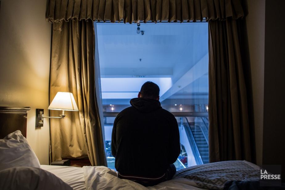 Un réfugié syrien à Toronto.... (PHOTO ARCHIVES LA PRESSE)