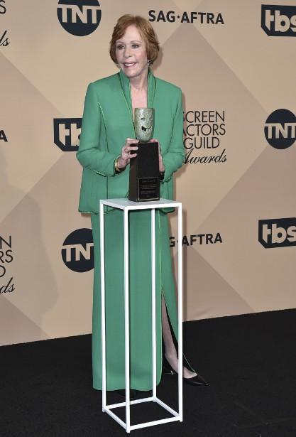 Le prix hommage de cette année sera remis à Carol Burnett. (Photo AP, Jordan Strauss/Invision)