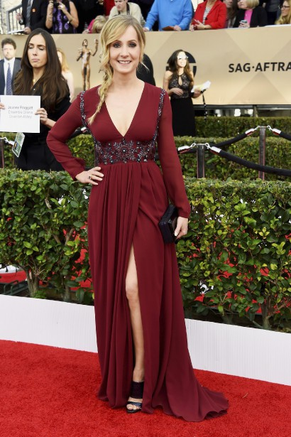 Joanne Froggatt a reçu un prix d'interprétation pour son rôle d'Anna dans <em>Downton Abbey</em>. (AFP, Frazer Harrison)