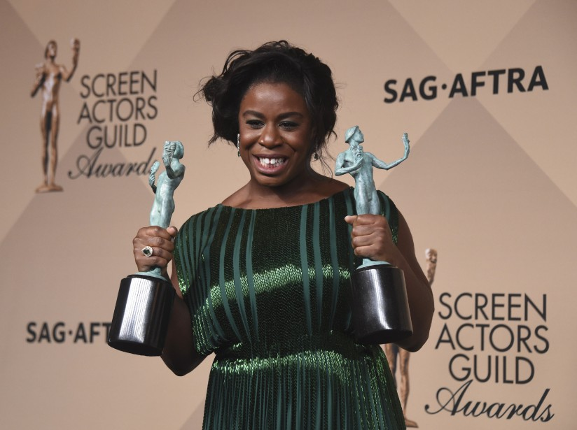 Uzo Aduba a été récompensée pour l'interprétation de Suzanne Warren dans la série de Netfllix <em>Orange Is the New Black.</em> (AP, Frederic J. Brown)