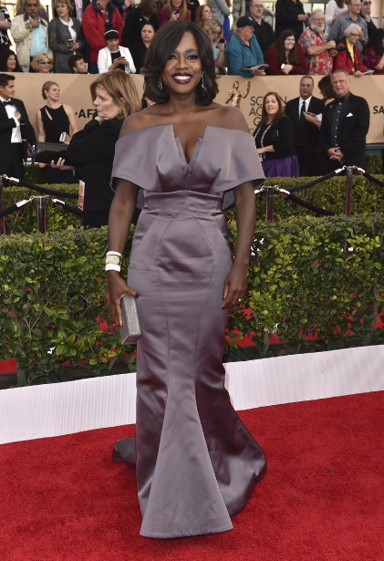 Viola Davis a remporté un prix pour son rôle dans la série télé <em>How to Get Away with Murder?</em> (Photo AP,  Jordan Strauss/Invision)