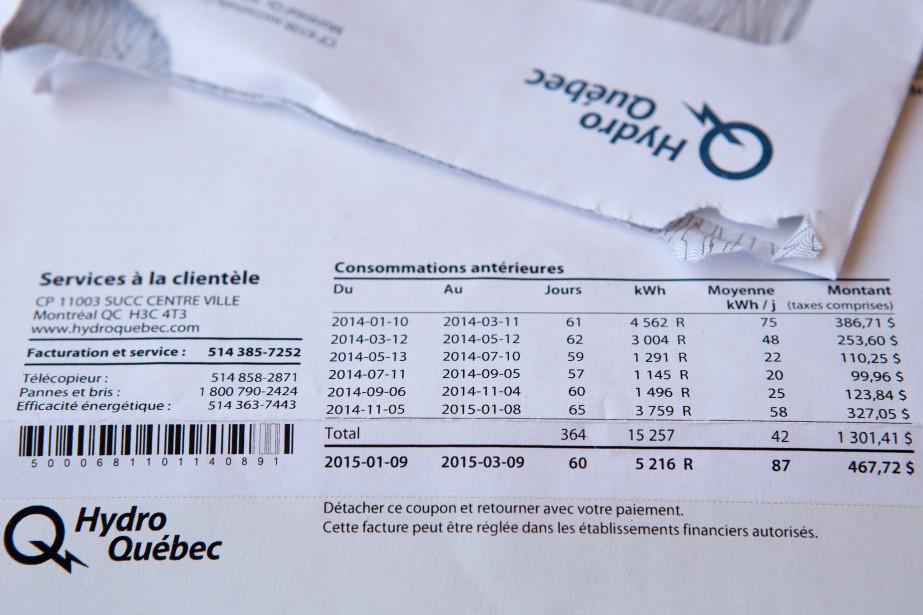 Un nombre sans précédent de clients résidentiels d'Hydro-Québec... (PHOTO ROBERT SKINNER, ARCHIVES LA PRESSE)