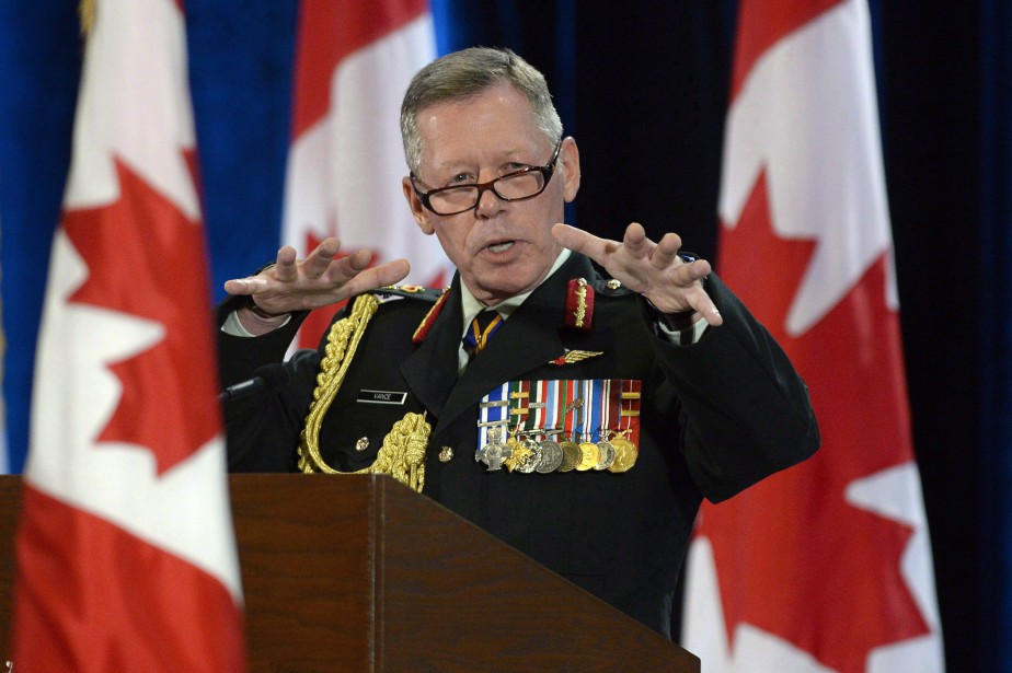 Le chef d'état-major des Forces armées canadiennes, le... (Archives, La Presse Canadienne)