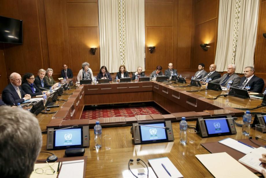 La communauté internationale cherche une issue négociée à... (Photo Salvatore Di Nolfi, AP)