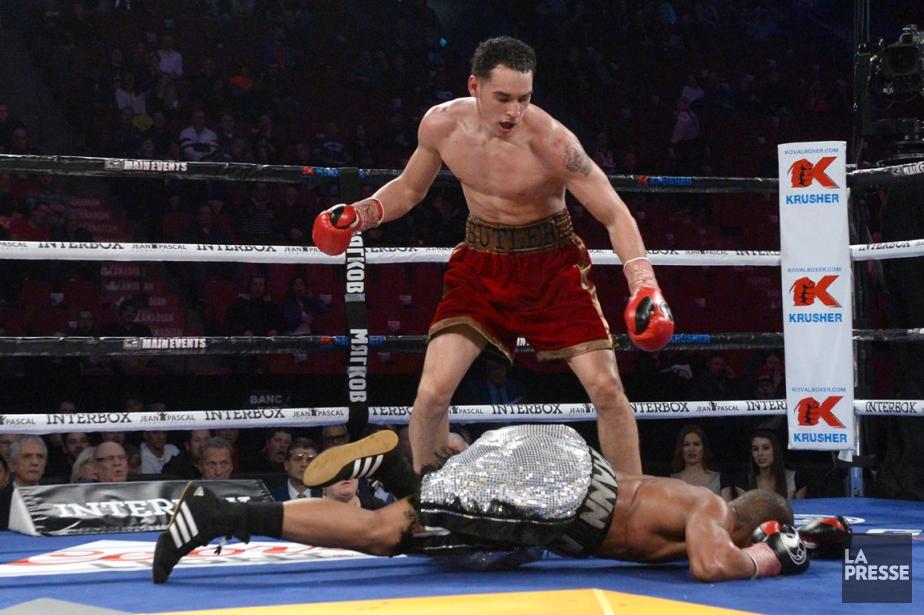 Steven Butler a remporté son combat contre Antonio... (Photo Bernard Brault, La Presse)