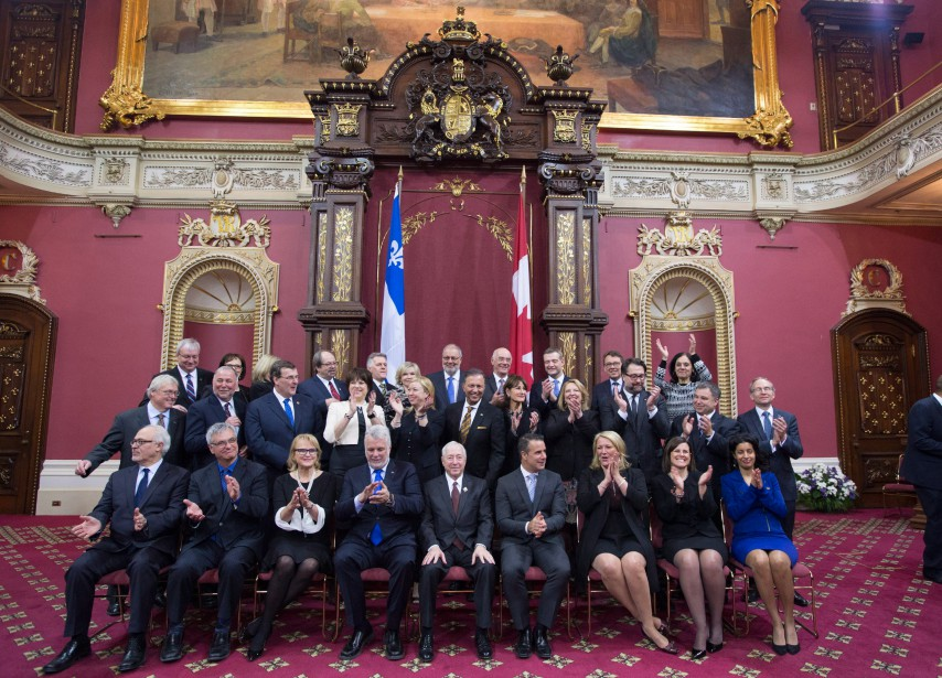 «Les messages qu'a envoyés le premier ministre Philippe... (Photo Jacques Boissinot, La Presse Canadienne)