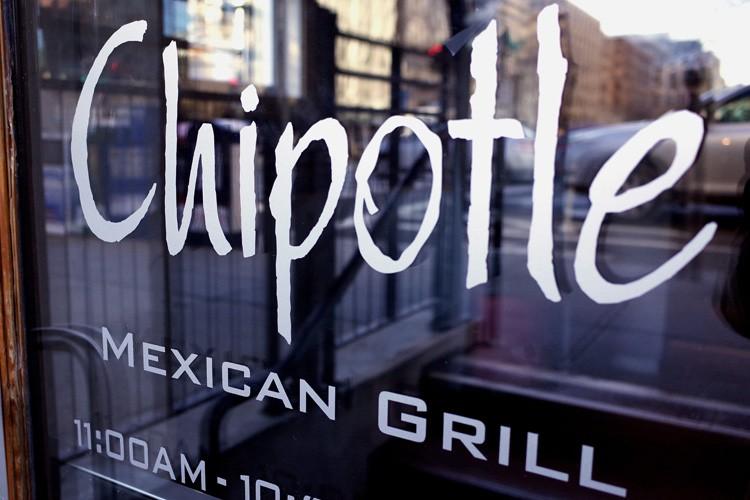 Fondé en 1993, Chipotle compte aujourd'hui environ 1850... (PHOTO AFP)
