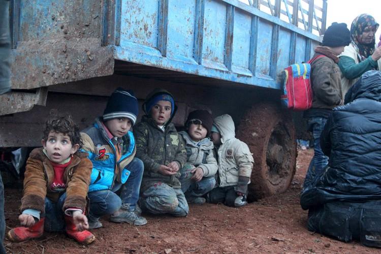 Plus de 10 000 enfants migrants non accompagnés... (PHOTO REUTERS)