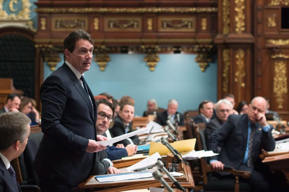 Le chef du Parti québécois, Pierre Karl Péladeau.... (PHOTO ARCHIVES LA PRESSE CANADIENNE)