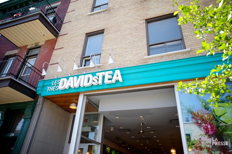 David's Tea compte actuellementdes boutiques au Canada et... (PHOTO SARAH MONGEAU-BIRKETT, archives LA PRESSE)