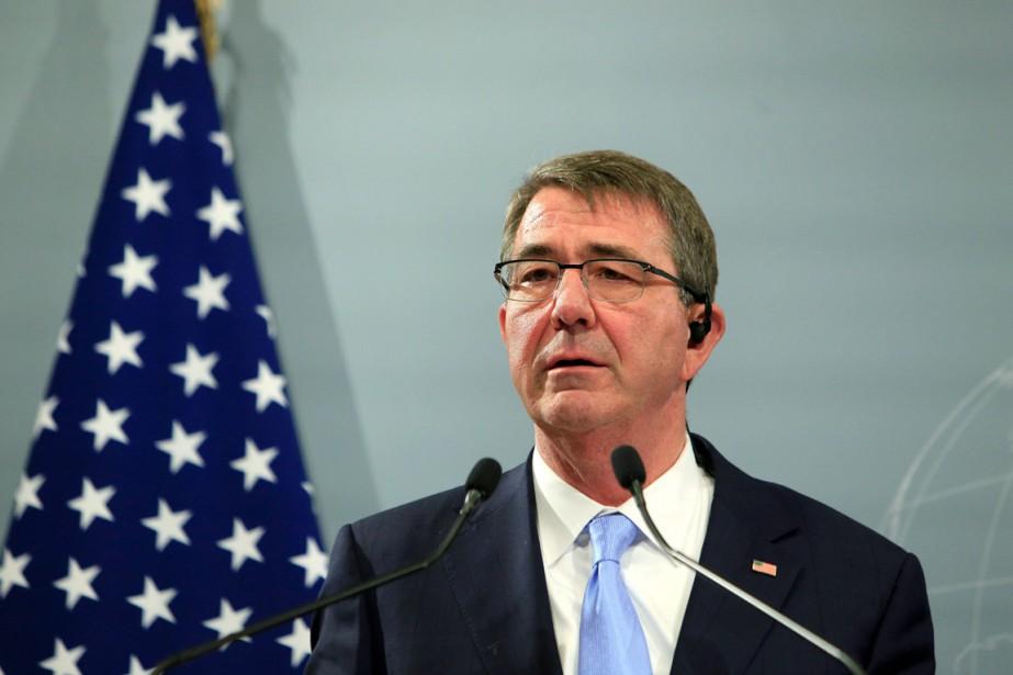 Le secrétaire américain à la Défense Ashton Carter.... (PHOTO THIBAULT CAMUS, ARCHIVES AP)