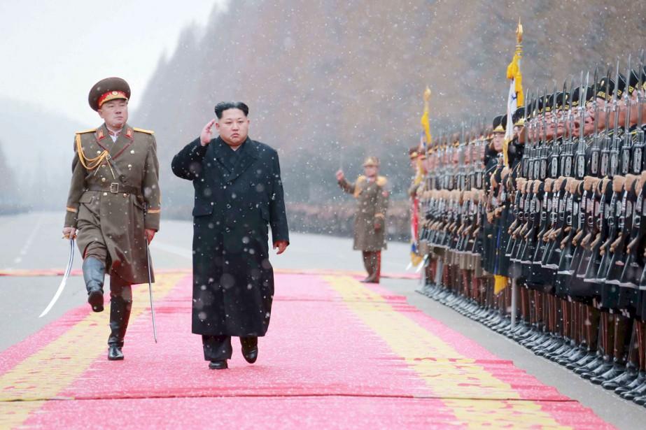 Le dirigeant nord-coréen Kim Jong-un.... (PHOTO ARCHIVES REUTERS/KCNA)