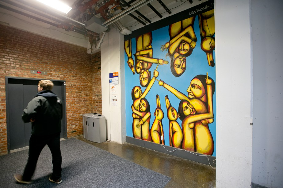 L'auteur cite le programme Art in Building comme... (Photo David Boily, archives La Presse)