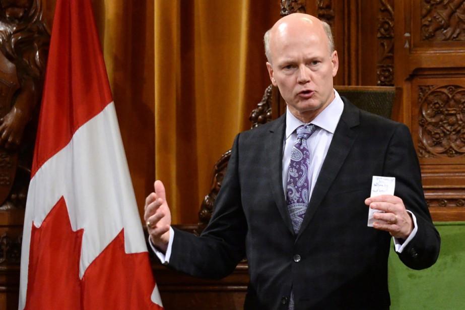 Le président des Communes, Geoff Regan (photo), est... (Photo archives La Presse Canadienne)
