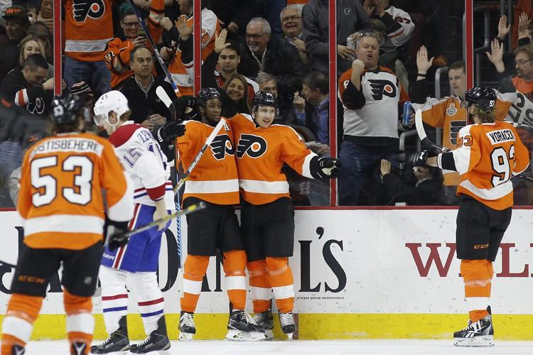 Relisez le clavardage du match entre le Canadien et les Flyers de... (PHOTO AP)