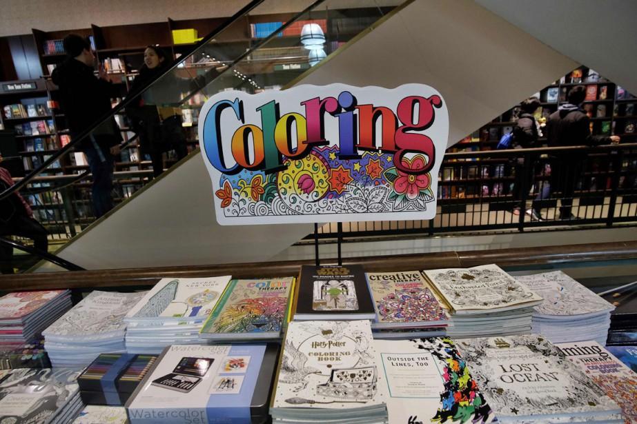 Impossible d'y échapper. Dans les librairies de New... (PHOTO AFP)