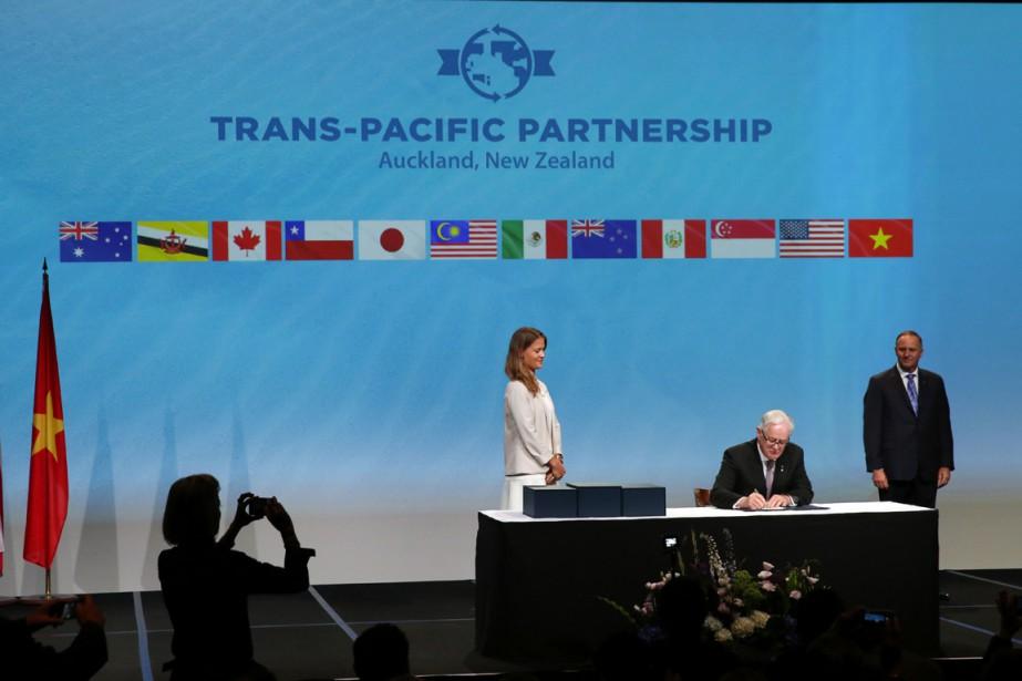 L'accord a été signé à Auckland.... (Photo AFP)