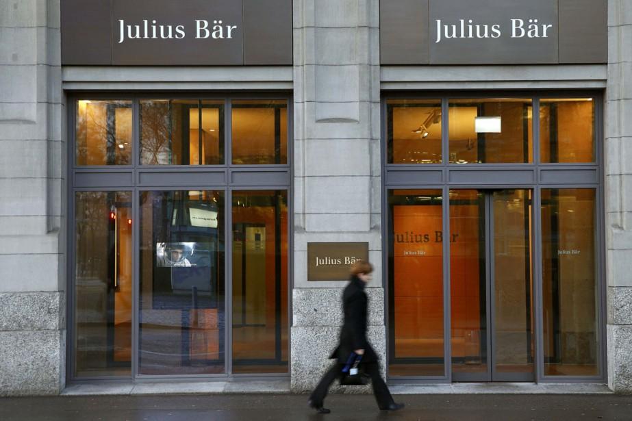 Julius Baer, un des plus gros gestionnaires de... (Photo Arnd Wiegmann, Reuters)