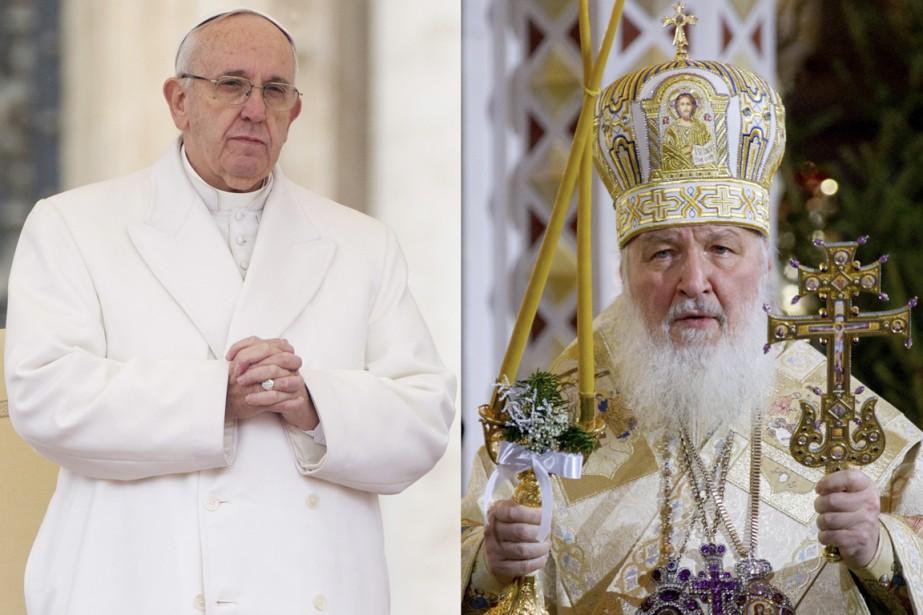 Le pape François (à gauche) va rencontrer le... (PHOTOS AP)